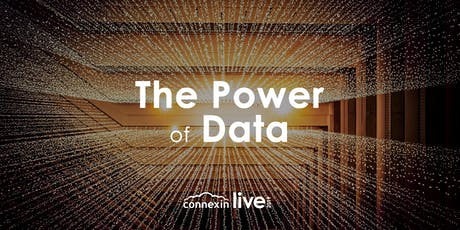 Connexin Live 2019: The Power of Data tickets