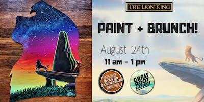 Pride Rock | Paint + Brunch at Two Bucks