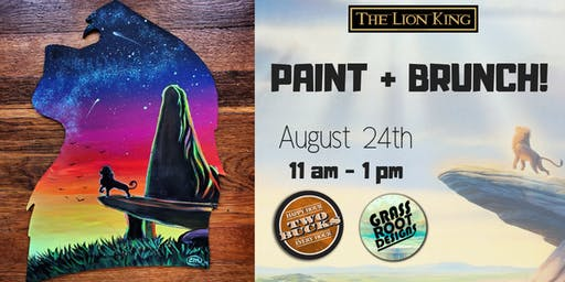 Pride Rock | Paint + Brunch at Two Bucks
