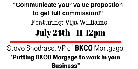 BKCO Mortgage Roll Out!!!!