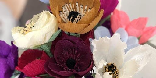 Paper Flower Making Workshop