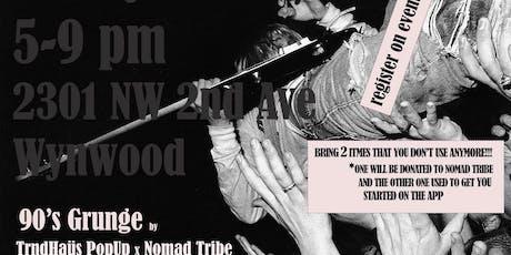 90s Grunge Trndhaüs PopUp x Nomad Tribe *Kurt Cobain* tickets