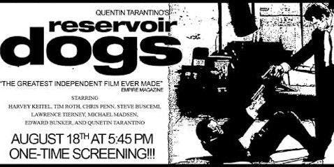 Reservoir Dogs: Presented By The Average Joe Movie Show