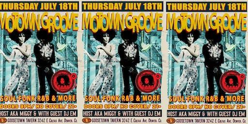 Motown Groove Thursday Dance party at Goosetown Tavern
