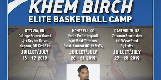 Khem Birch Elite Basketball Camp