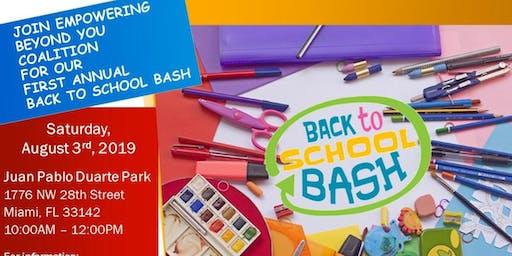 EBY Coalition Back to School Bash