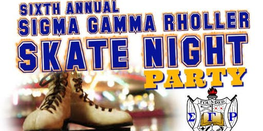 6th Annual Sigma Gamma Rholler Skate Night Back to School Party