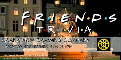 Friends Trivia at Crank Arm Brewing Company tickets