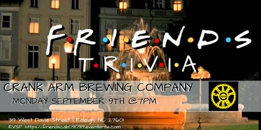 Friends Trivia at Crank Arm Brewing Company