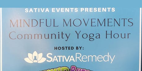Community Yoga Hour - Mindful Movements tickets