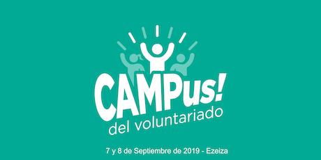 1er Campus del Voluntariado Listos Ya! entradas