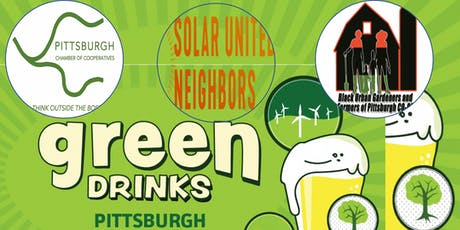 GREEN DRINKS & Pittsburgh Co-op Meetup and Networking tickets