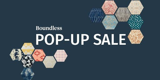 Boundless Rugs Pop Up Sale!