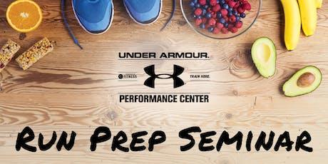 Run Prep Seminar tickets
