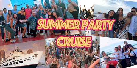 Summer Party Cruises: The Best Floating Party in Boston tickets