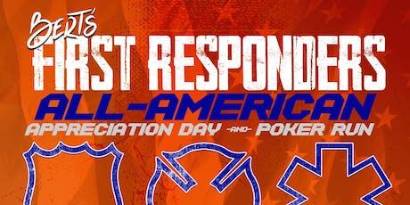 First Responders Appreciation Poker Run tickets