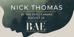 Nick Thomas of The Spill Canvas at the BAE Ballroom