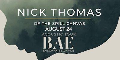 Nick Thomas of The Spill Canvas at the BAE Ballroom