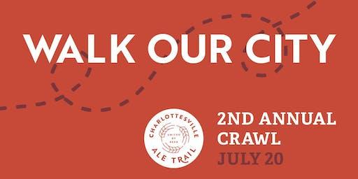 Second Annual Charlottesville Ale Trail Crawl