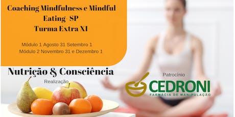 Coaching de Mindfulness e Mindful Eating -SP Turma extra XI ingressos