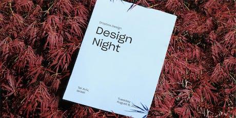 Open House: Design Night in Tel Aviv billets