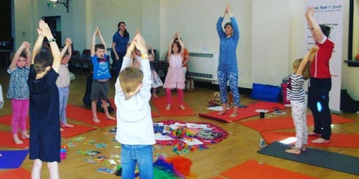 Body, Mind & Heart Kids Yoga & Mindfulness Class in Horsforth Hall Park