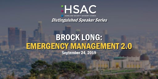 Brock Long: Emergency Management 2.0