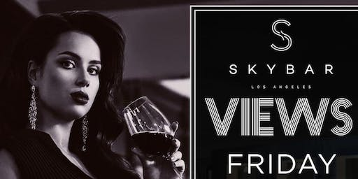 Night @ SkyBar In The Mondrian Hotel In West Hollywood!
