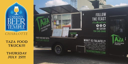 Taza Food Truck at the Temple