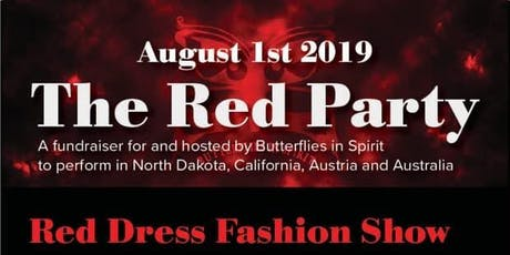 The Red Party - Hosted by Butterflies in Spirit tickets