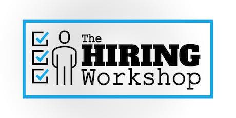 The Hiring Workshop - Tiffin tickets