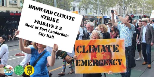 Broward Climate Protest