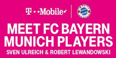 FC Bayern Munich Player Appearance  tickets