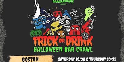 ***** or Drink: Boston Halloween Bar Crawl (2 Days)