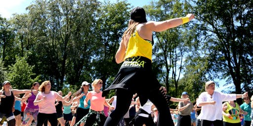 Free Open air Zumba in Fælledparken with Irina vol.4