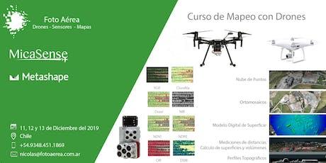 Curso de Mapeo con Drones en Santiago de Chile entradas