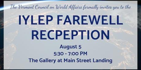 IYLEP Farewell Reception tickets