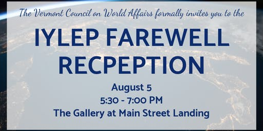 IYLEP Farewell Reception