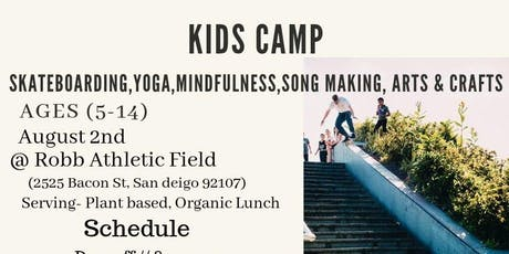 Kids Skate,Yoga, & Art Camp tickets