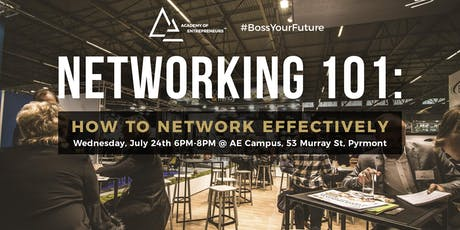 How to Network Effectively tickets