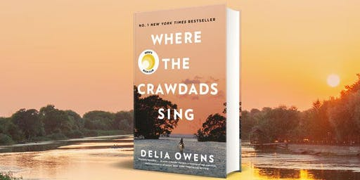 Delia Owens, Author of Where the Crawdads Sing SOLD OUT