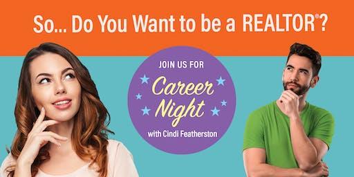 Career Night with Cindi Featherston