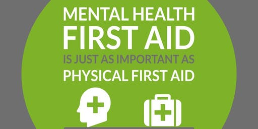 Mental Health First Aid (MHFA) 2 Day FIRST AIDER **IDEAL FOR THE WORKPLACE**