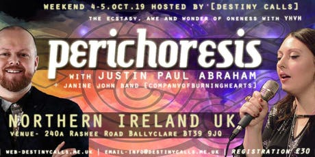 Perichoresis with Justin Abraham & Janine John band tickets
