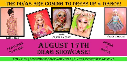 Diva's  &  Dinner Drag Showcase!