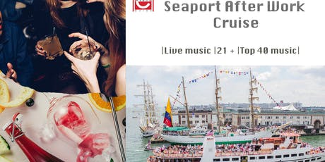 """Seaport After Work Cruises: use code """"Summer"""" for current promo tickets"""