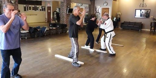 Senior's Self-Defense Class (50+) in Sea Cliff, NY.