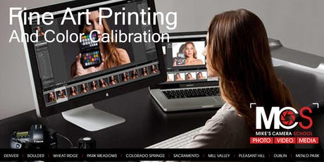Fine Art Printing and Color Calibration - Boulder tickets