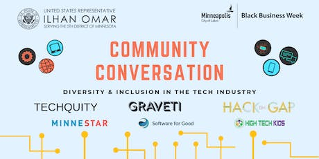Community Conversation: Diversity & Inclusion in the Tech Industry tickets