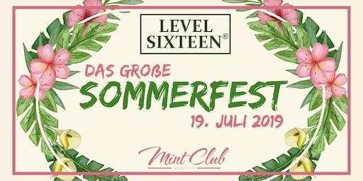LEVEL SIXTEEN Sommerfest